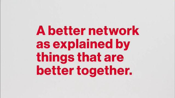 Verizon TV Spot, 'A Better Network as Explained by Things Better Together' - Thumbnail 1
