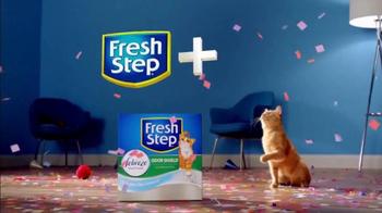 Fresh Step Odor Shield TV Spot, 'Odor Control Worth Celebrating' - Thumbnail 9