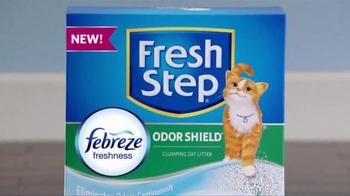 Fresh Step Odor Shield TV Spot, 'Odor Control Worth Celebrating' - Thumbnail 4
