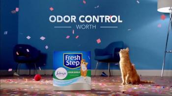 Fresh Step Odor Shield TV Spot, 'Odor Control Worth Celebrating' - Thumbnail 8