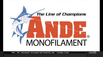ANDE Monofilament Tournament TV Spot, 'One Goal'