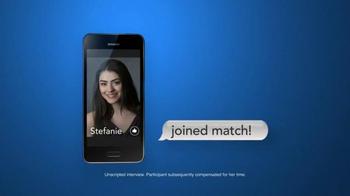 Match.com TV Spot, 'Match On the Street: Stefanie 3 in 5' - Thumbnail 7