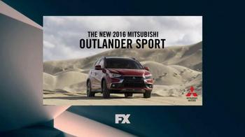 2016 Mitsubishi Outlander Sport TV Spot, 'FX Network: Exclusive Looks' - Thumbnail 9