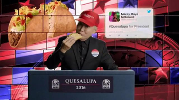 Taco Bell Quesalupa TV Spot, 'The Internet Is Talking' Feat. George Takei - Thumbnail 4
