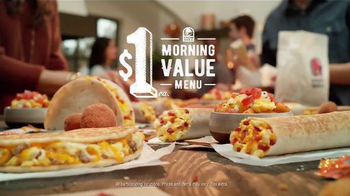 Taco Bell Morning Value Menu TV Spot, 'This or That: Variety' - Thumbnail 9