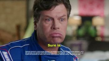 Aaron's TV Spot, 'The Language of Racing' Featuring Michael Waltrip - Thumbnail 8