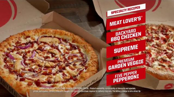 Pizza Hut TV Spot, 'Favorite High Quality Specialties' - 3006 commercial airings