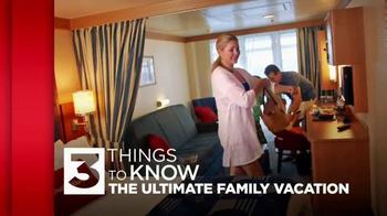 Disney Cruise Line TV Spot, 'USA Network: Ultimate Family Vacation' - Thumbnail 2