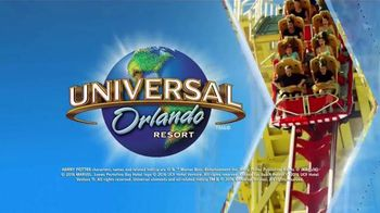 Universal Orlando Resort TV Spot, 'Travel Channel: March Destination' - 17 commercial airings