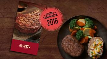 Outback Steakhouse TV Spot, 'Outback Throwback: Relive the Past'
