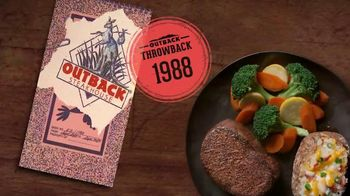 Outback Steakhouse TV Spot, 'Outback Throwback: Relive the Past' - Thumbnail 1