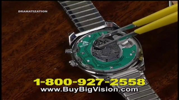 Big Vision TV Spot, 'Handsfree Magnification' - Thumbnail 5