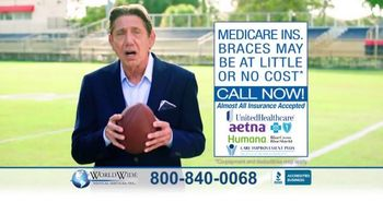 World Wide Medical Services TV Spot, 'Everything's a Snap' Feat. Joe Namath - 2 commercial airings