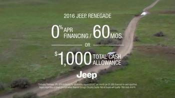 2016 Jeep Renegade TV Spot, 'Listen to Your Gut' Song by Morgan Dorr - Thumbnail 5