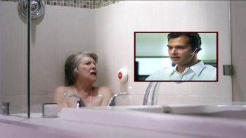 Life Alert TV Spot, 'Waterproof Help'