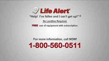 Life Alert TV Spot, 'Waterproof Help' - Thumbnail 9