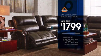 Ashley Furniture Homestore Save & Style Event TV Spot, 'Bed and Sofa' - Thumbnail 5