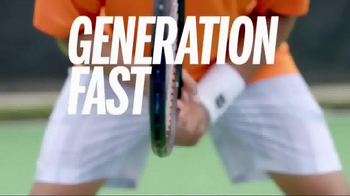 Wilson Tennis TV Spot, 'Generation Fast' Song by DJ Brownie