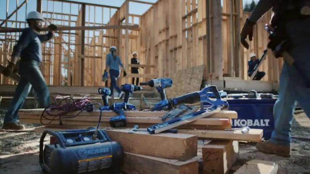 Lowe's Kobalt Tools TV Commercial, 'Big Jobs' - Video