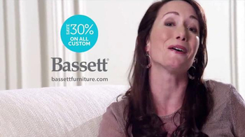 Bassett Custom Furniture Sale TV Spot, 'A Complete Makeover' - Thumbnail 9