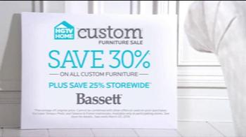 Bassett Custom Furniture Sale TV Spot, 'A Complete Makeover' - Thumbnail 5