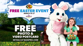 Bass Pro Shops Easter Event TV Spot, 'Easter Bunny' - Thumbnail 9