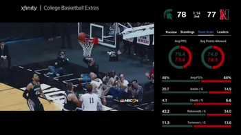 XFINITY X1 Sports App TV Spot, 'Live Stats and Standings' - Thumbnail 7