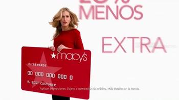 Macy's La Venta de Súper Sábado TV Spot, 'Wow Savings Pass' [Spanish] - Thumbnail 4