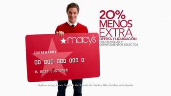 Macy's La Venta de Súper Sábado TV Spot, 'Wow Savings Pass' [Spanish] - Thumbnail 5