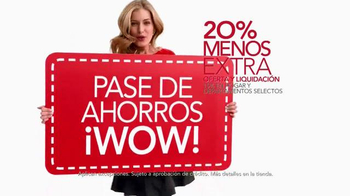Macy's La Venta de Súper Sábado TV Spot, 'Wow Savings Pass' [Spanish] - Thumbnail 6