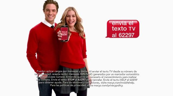 Macy's La Venta de Súper Sábado TV Spot, 'Wow Savings Pass' [Spanish] - Thumbnail 8