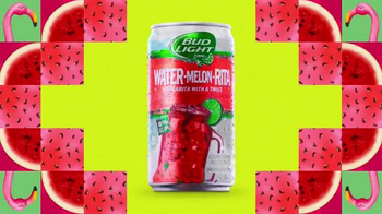 Bud Light Lime Water-Melon-Rita TV Spot, \'Kaleidoscope\' Song by Nelly