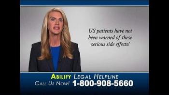 Goldenberg Law TV Spot, 'Abilify' - Thumbnail 4