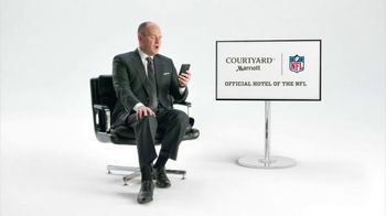 Courtyard Marriott TV Spot,'Rich Eisen On Longs Flights Without a Football' - 87 commercial airings
