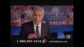 Colonial Penn TV Spot, 'Life-Long Coverage' Featuring Alex Trebek - 183 commercial airings