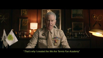 We Are Tennis Fan Academy TV Spot, 'Discover It With Captain John McEnroe' - Thumbnail 6
