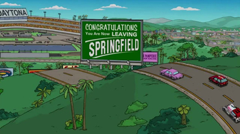 2017 Daytona 500 Super Bowl 2017 TV Promo, 'The Simpsons' - Thumbnail 1