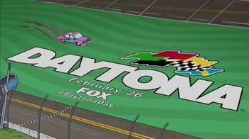 2017 Daytona 500 Super Bowl 2017 TV Promo, 'The Simpsons' - Thumbnail 10