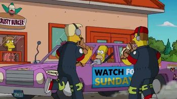 2017 Daytona 500 Super Bowl 2017 TV Promo, 'The Simpsons' - Thumbnail 3