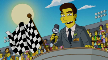 2017 Daytona 500 Super Bowl 2017 TV Promo, 'The Simpsons' - Thumbnail 5
