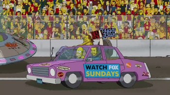 2017 Daytona 500 Super Bowl 2017 TV Promo, 'The Simpsons' - Thumbnail 7