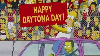 2017 Daytona 500 Super Bowl 2017 TV Promo, 'The Simpsons' - Thumbnail 8