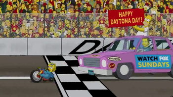 2017 Daytona 500 Super Bowl 2017 TV Promo, 'The Simpsons' - Thumbnail 9