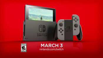 Nintendo Switch Super Bowl 2017 TV Spot, 'Believer' Song by Imagine Dragons - Thumbnail 9
