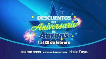 Descuentos del Aniversario de Aaron's TV Spot, 'Recámara' [Spanish] - Thumbnail 7