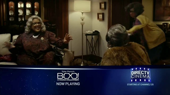 DIRECTV Cinema TV Spot, 'Tyler Perry's Boo! A Madea Halloween'