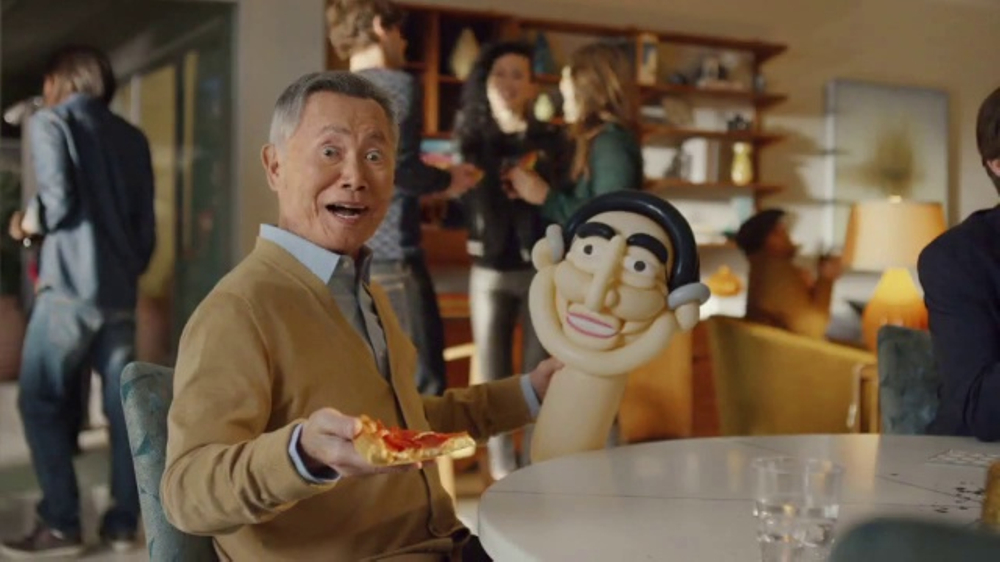 Pizza Hut Super Bowl 2017 TV Commercial, 'Oh My' Featuring George Takei