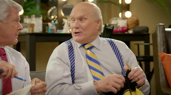GEICO TV Spot, 'Pregame Relaxation' Featuing Terry Bradshaw, Jimmy Johnson - Thumbnail 7