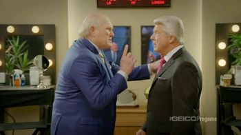 GEICO TV Spot, 'Pregame Pump Up' Featuring Terry Bradshaw, Jimmy Johnson - 1 commercial airings