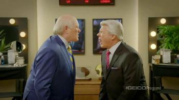 GEICO TV Spot, 'Pregame Pump Up' Featuring Terry Bradshaw, Jimmy Johnson - Thumbnail 7